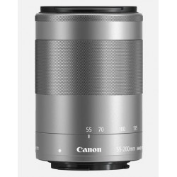 Canon 55-200mm f4.5-6.3 EF-M IS STM zilver