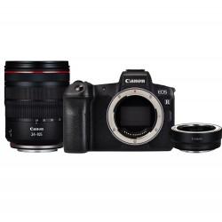 Canon EOS R + 24-105mm f4.0 L IS USM RF + Adapter EF-EOS R, camera-Kit
