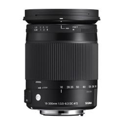 18-300mm f3,5-6,3 DC Macro OS HSM voor Canon