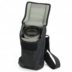 S&F Slim Lens Pouch 75 AW Black*