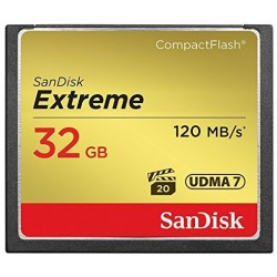 San Disk 32 GB CompactFlash-Karte Extreme