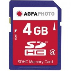 AgfaPhoto 4 GB SDHC-Card...