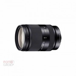 Sony 18-200mm F3.5-6.3 Zwart