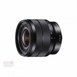 Sony 10-18mm f4.0 Zwart