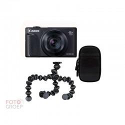 Canon  SX740 HS Zwart kit