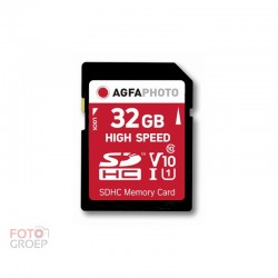 AgfaPhoto 32 GB SDHC-Karte...