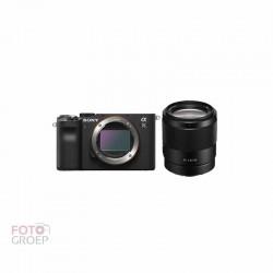 Sony A7c  Zwart + 35mm f1.8