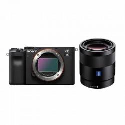 Sony A7c  Zwart + 55mm f1.8