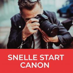 Workshop Snelle start Canon