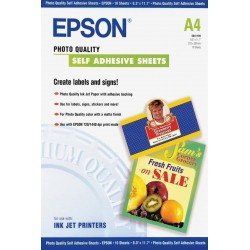 Epson S041106 Self-adhesive photo paper inktjet 167g m2 A4 1